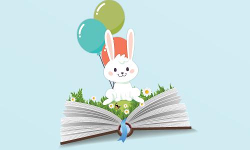 """שעת סיפור בספריה: """"החיפושית שנולדה בלי נקודות,"""